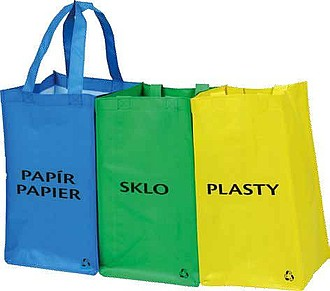 SEPARE 3pcs recycle waste bags