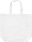 Shopping bag, non-woven White