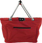Foldable shopping bag Red