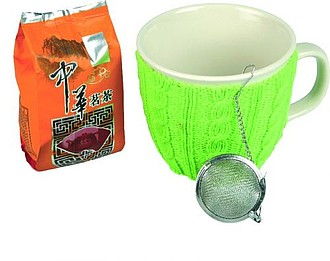 VS GOA Tea Set incl. mug with green sweater and tea