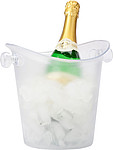 Plastic cooler/ice bucket.Neutral