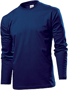 Stedman Comfort-T Long Sleeve Men, navy blue, S