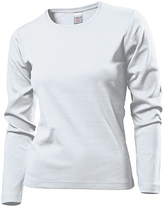 Stedman Comfort-T Long Sleeve Women, white, XL