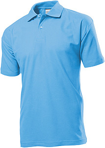 Stedman Polo Men, light blue, XXXL