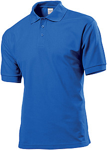 Stedman Polo 65/35 Men, bright royal, XXXL