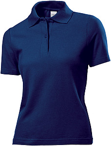 Stedman Polo Women, navy blue, XXL