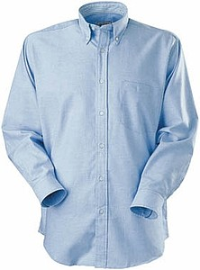 US Basic Aspen Casual Shirt LS, light blue M