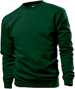 Stedman Sweatshirt, bottle green, M