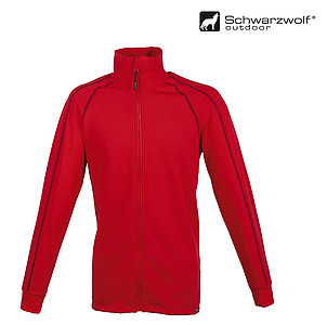 SCHWARZWOLF PANUCO Functional sweatshirt, MEN, red, XXL