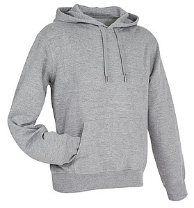 Stedman Active Sweat Hoody Men, grey heather, M