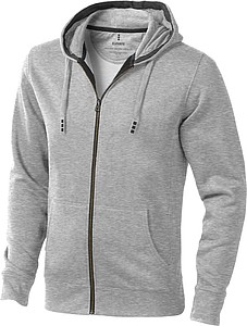 Elevate Arora FZ Sweater, grey heather L