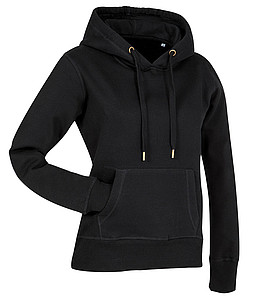 Stedman Active Sweat Hoody Women, black, M