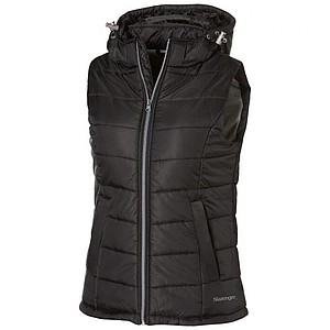 Slazenger Mixed Ladies Doubles Bodywarmer, black M