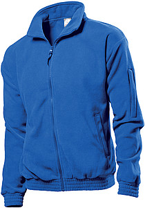 Stedman Fleece Jacket, bright royal, S
