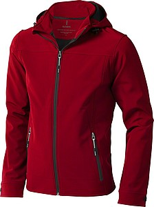 Elevate Langley Softshell jacket, red L