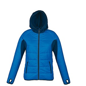 SCHWARZWOLF MODOC jacket, women, blue/blue zipper, S