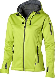 Slazenger Match Ladies Softshell Jacket, mid green XXL