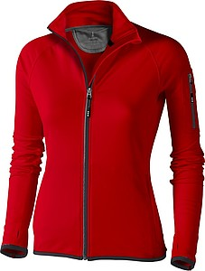 Elevate Mani Power Ladies Fleece jacket, red L