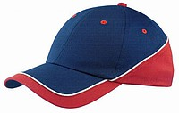 SLZ New Edge Cap - Navy/Red