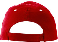 Cap with sandwich peakRed