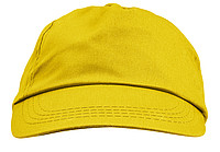 Cap, cotton twillYellow