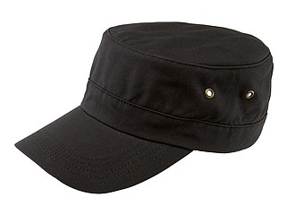 "Military cap ""Soldier"" with casual army style, made from strong cotton,colour anthracite"