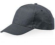 Memphis 5 Panel Cap Grey