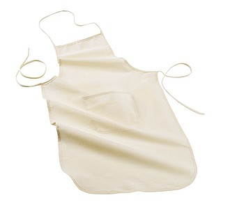 "Apron ""Jamie"",colour beige"