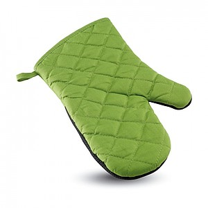 Cotton oven glove, green