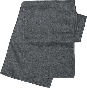 Fleece scarf.Grey