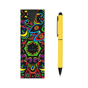 Pierre Cardin CELEBRATION ballpoint pen, yellow