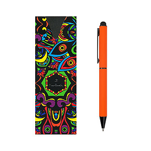 PC CELEBRATION ballpoint pen, orange