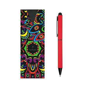 PC CELEBRATION ballpoint pen, red