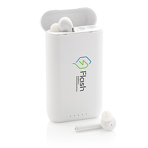 Liberty TWS earbuds with 5.000 mAh powerbank