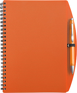 A5 Spiral notebook Orange