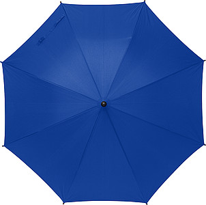 RPET polyester (170T) automatic umbrella with eight panels. Opens and closes automatically.