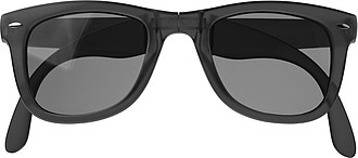 Foldable sunglasses.Black