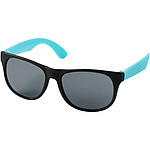 Retro sunglasses, aqua blue