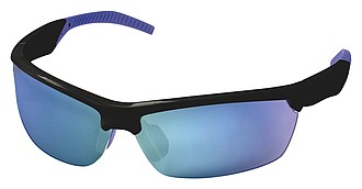 Canmore sunglasses, black,royal blue