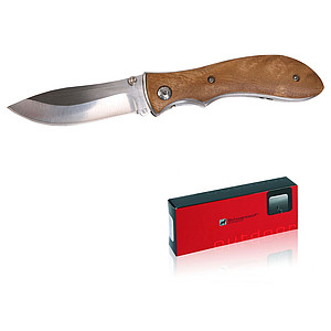 SCHWARZWOLF JUNGLE Pocket knife, wooden