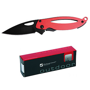 SCHWARZWOLF GAIA mini pocket knife, red