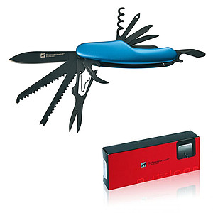 SCHWARZWOLF CAVALI Multifunctional tool with 11 tools, blue