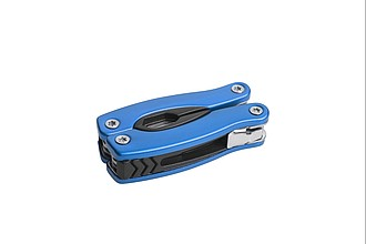 SCHWARZWOLF PONY NEW, blue, 13-in-1 mini multitool
