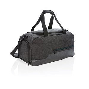 900D weekend/sports bag PVC free, black