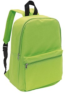 "Backpack ""Chap"",colour apple green"