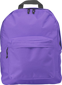 Polyester backpackPurple