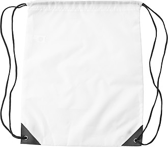 RPET polyester (190T) drawstring backpack.