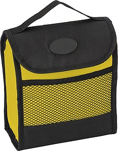 Polyester foldable cooling lunch bag (600D)