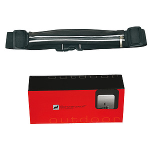SCHWARZWOLF RAVIK Elastic waterproof belt, black