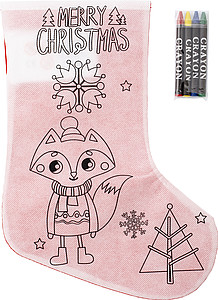 Nonwoven (80gr/m2) Christmas stocking